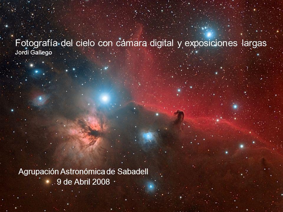 Agrupación Astronómica de Sabadell 9 de Abril 2008