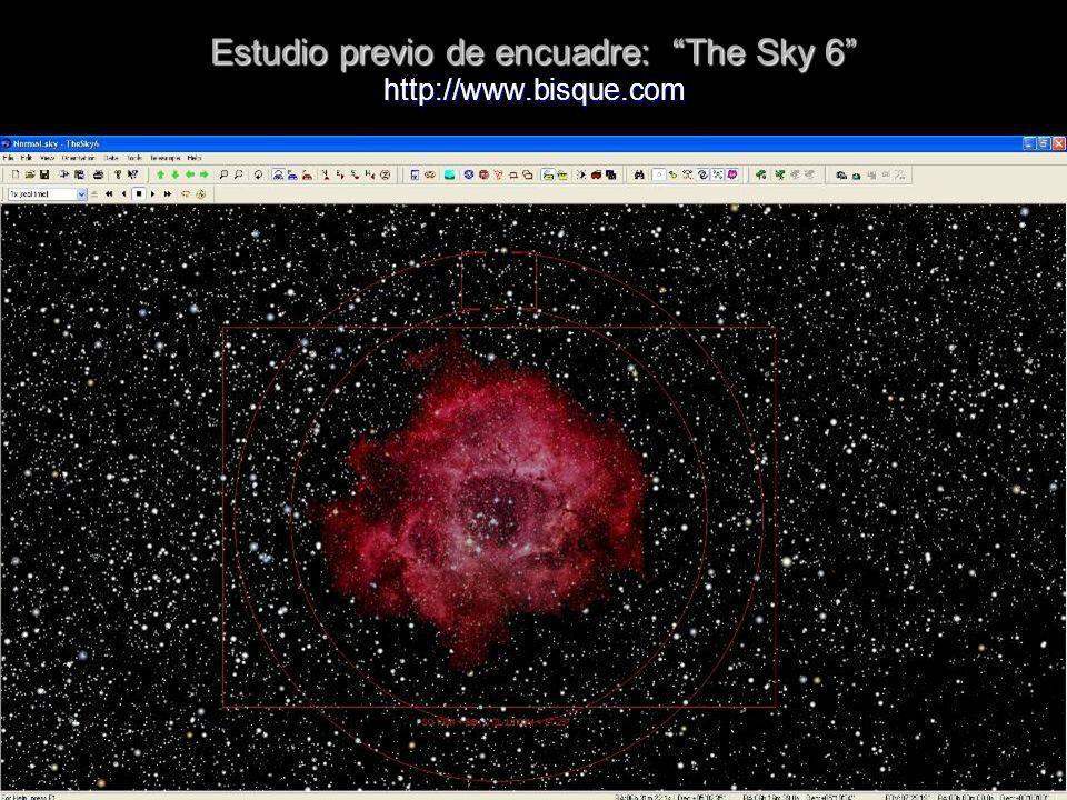 Estudio previo de encuadre: The Sky 6 http://www.bisque.com