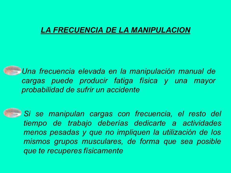 LA FRECUENCIA DE LA MANIPULACION