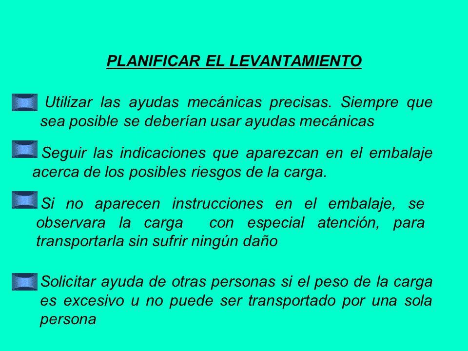 PLANIFICAR EL LEVANTAMIENTO