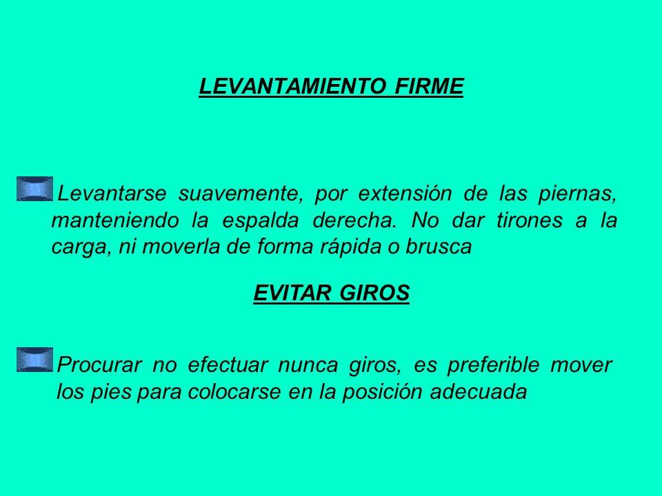 LEVANTAMIENTO FIRME