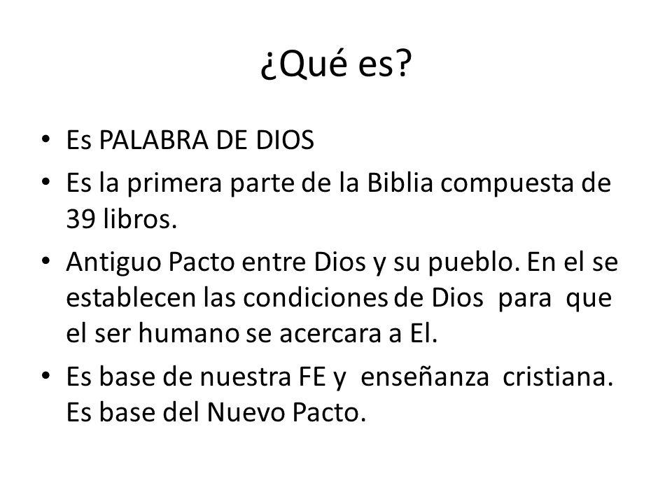 ¿Qué es Es PALABRA DE DIOS