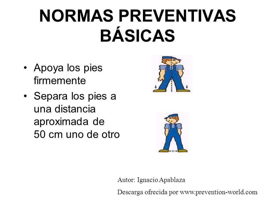 NORMAS PREVENTIVAS BÁSICAS