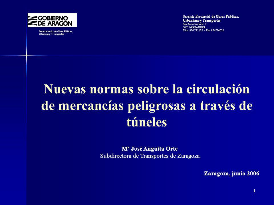Subdirectora de Transportes de Zaragoza