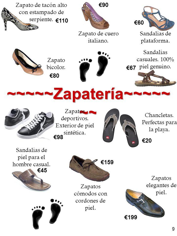 ~~~~~Zapatería~~~~~~~
