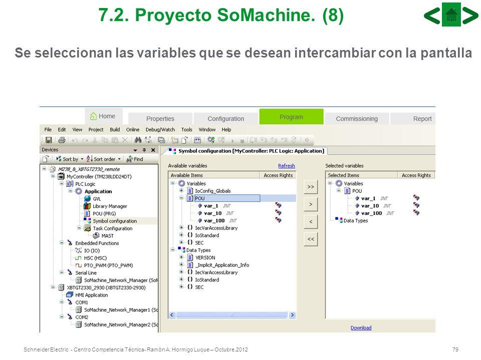7.2.Proyecto SoMachine.