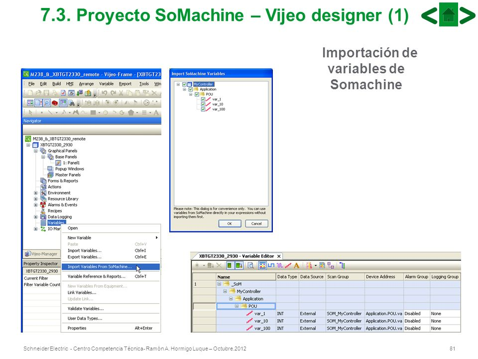 7.3. Proyecto SoMachine – Vijeo designer (1)