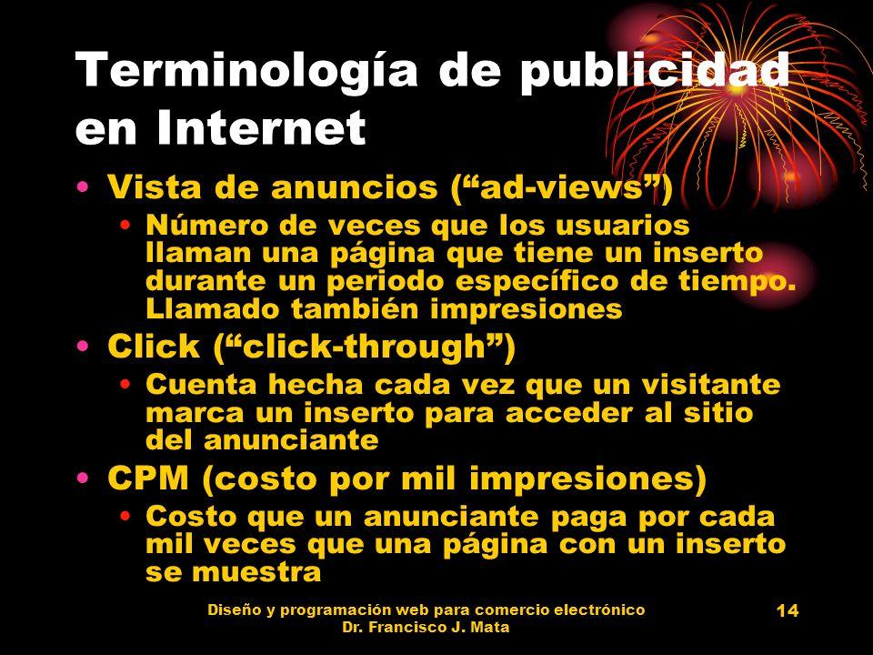 Terminología de publicidad en Internet