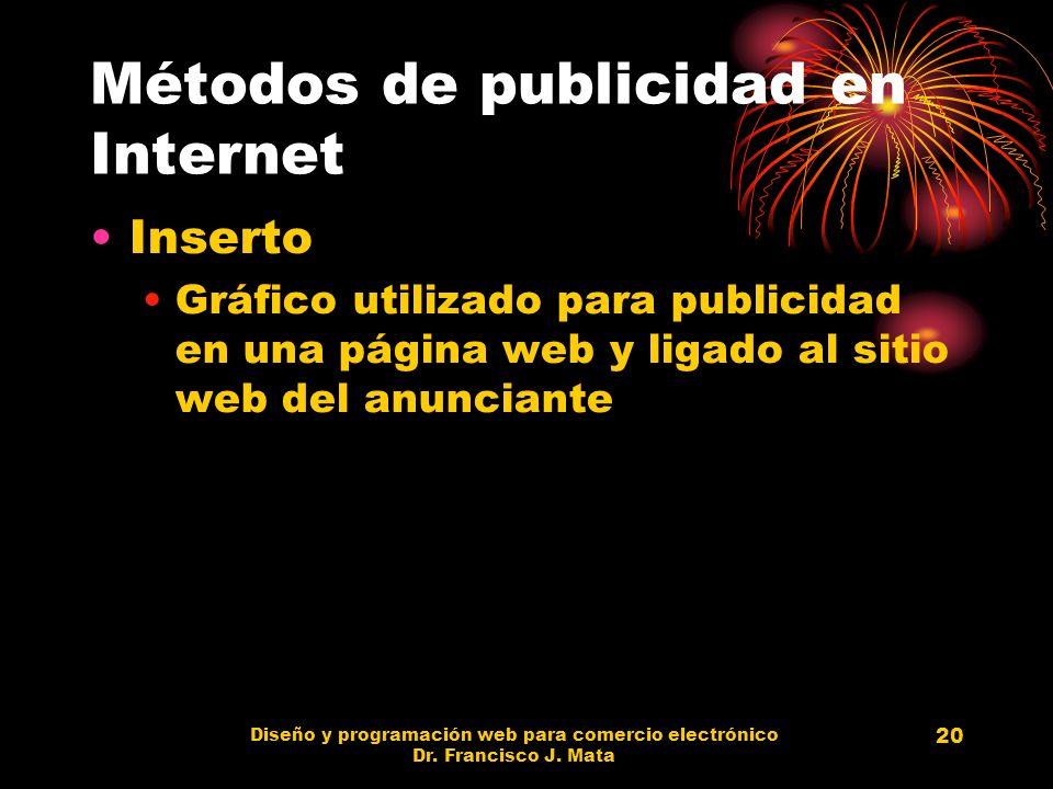 Métodos de publicidad en Internet