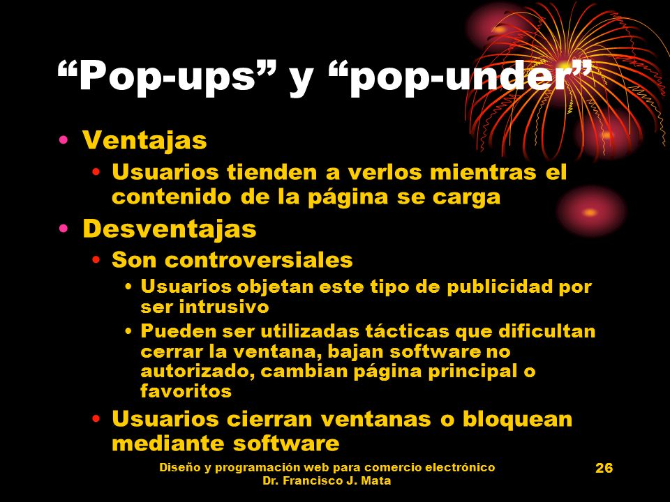 Pop-ups y pop-under