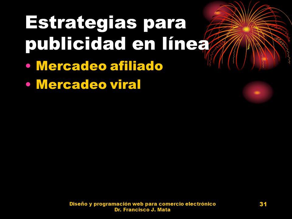 Estrategias para publicidad en línea