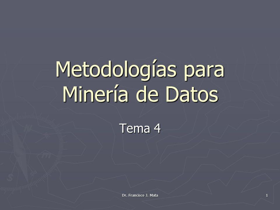 Metodologías para Minería de Datos