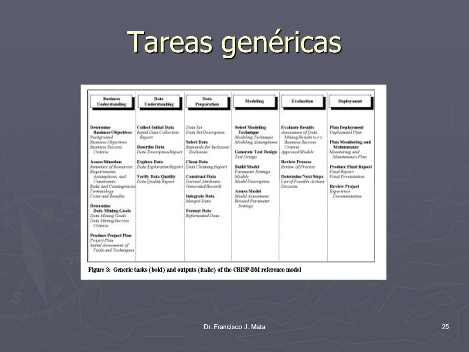 Tareas genéricas Dr. Francisco J. Mata