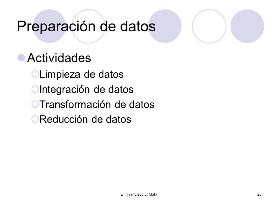 Preparación de datos Actividades Limpieza de datos