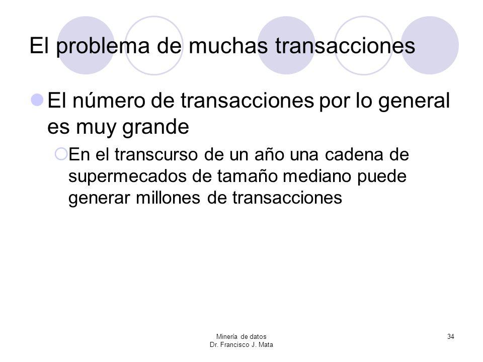 El problema de muchas transacciones