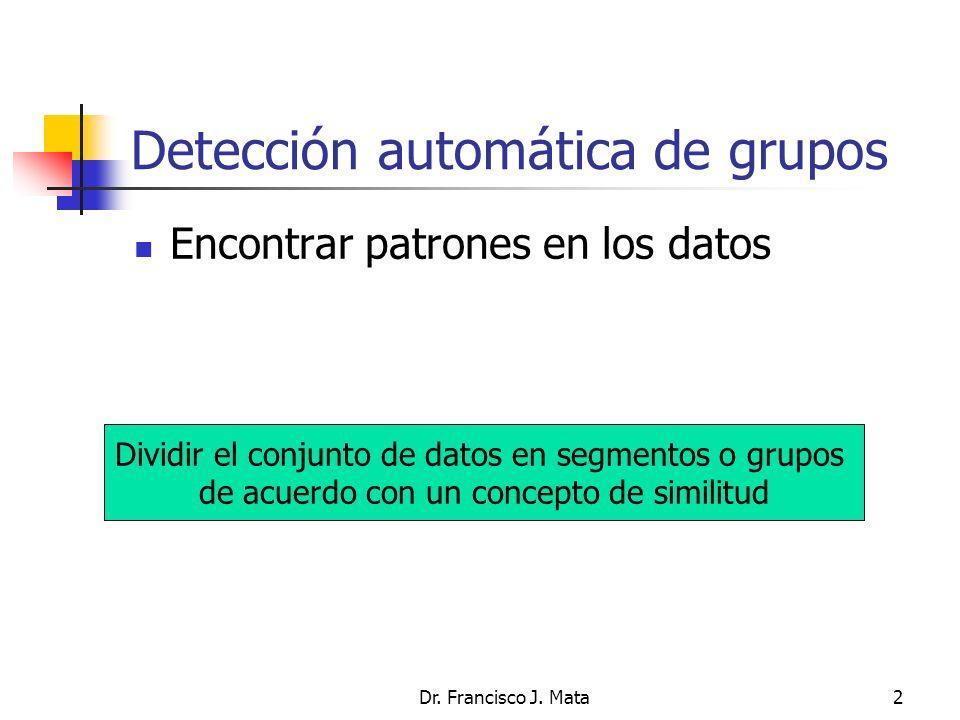 Detección automática de grupos