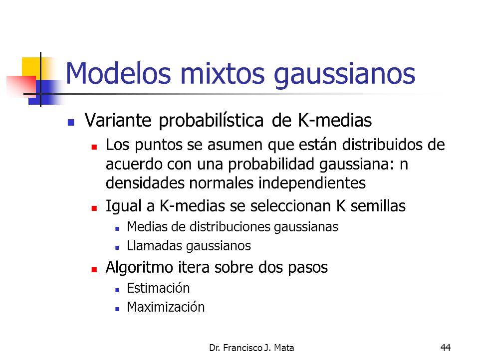 Modelos mixtos gaussianos