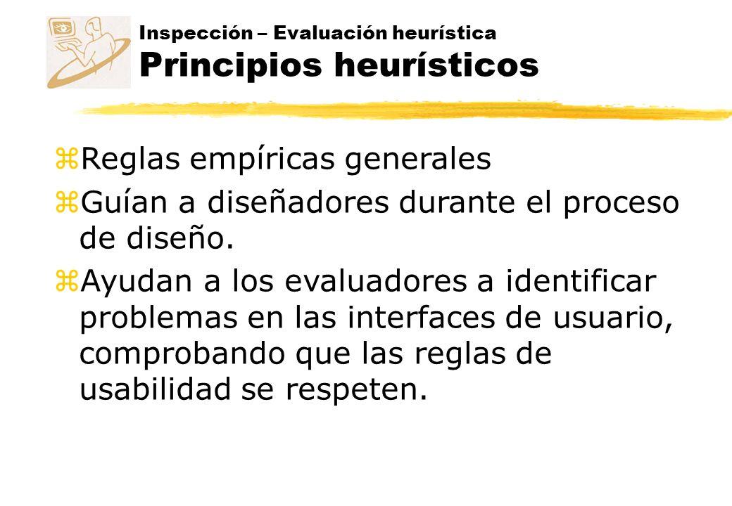 Reglas empíricas generales