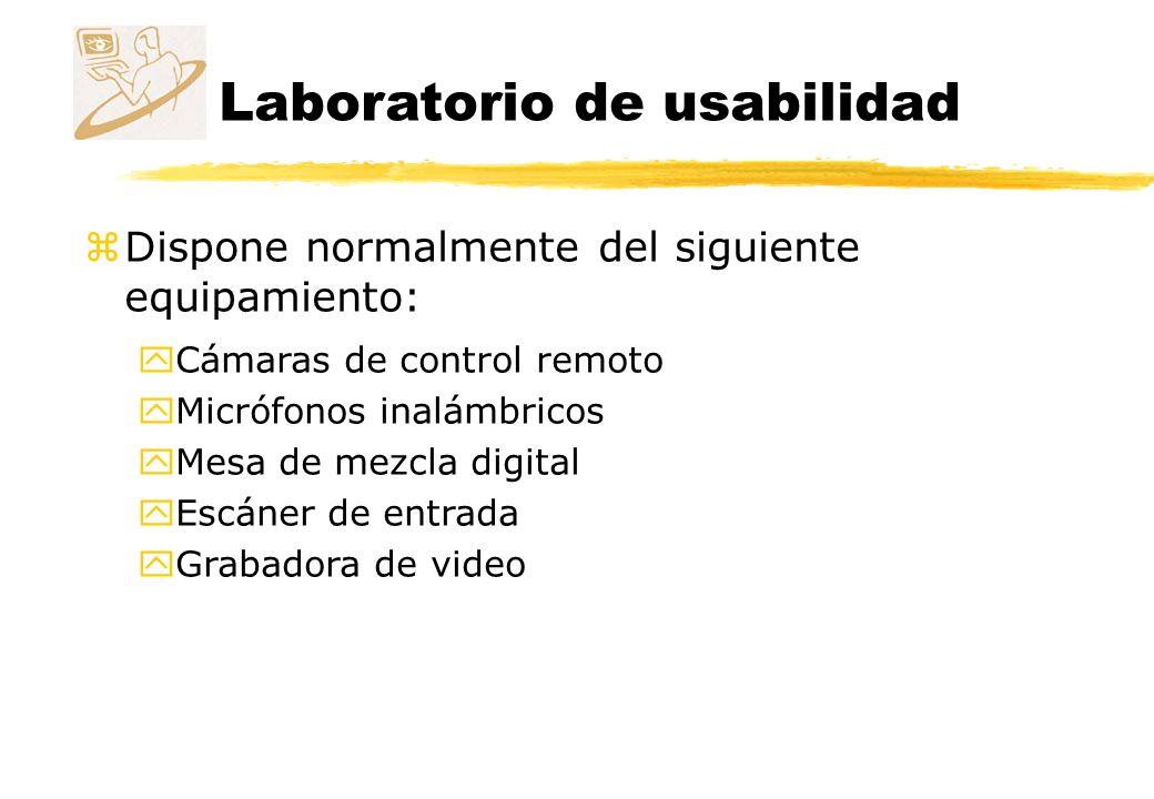 Laboratorio de usabilidad