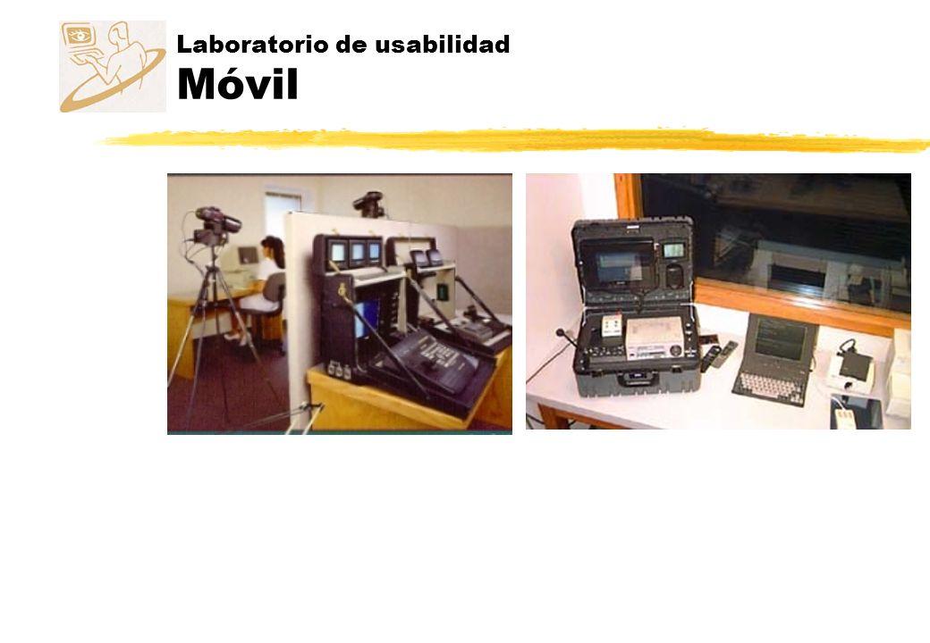 Laboratorio de usabilidad Móvil