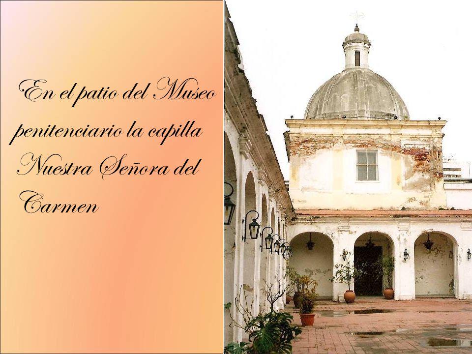En el patio del Museo penitenciario la capilla Nuestra Señora del Carmen