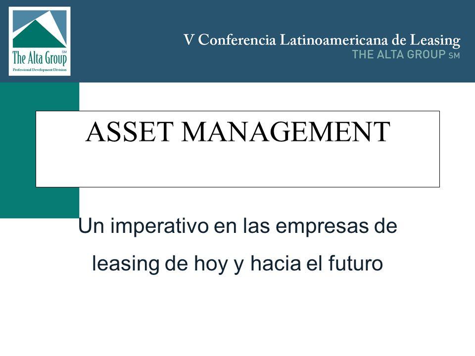Un imperativo en las empresas de leasing de hoy y hacia el futuro