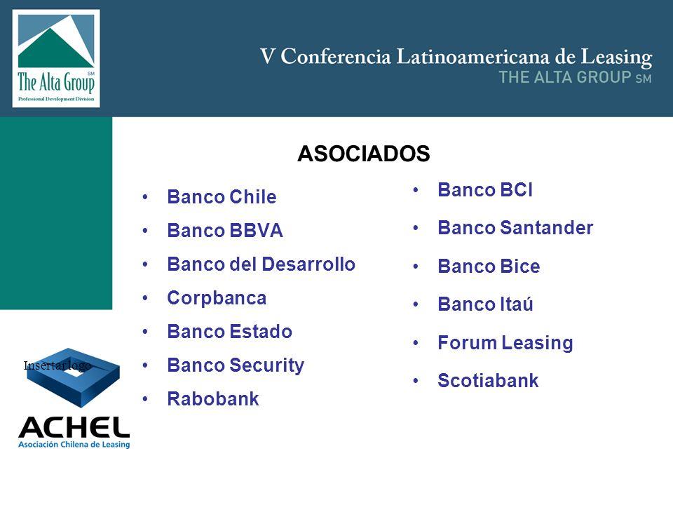 ASOCIADOS Banco BCI Banco Chile Banco Santander Banco BBVA Banco Bice