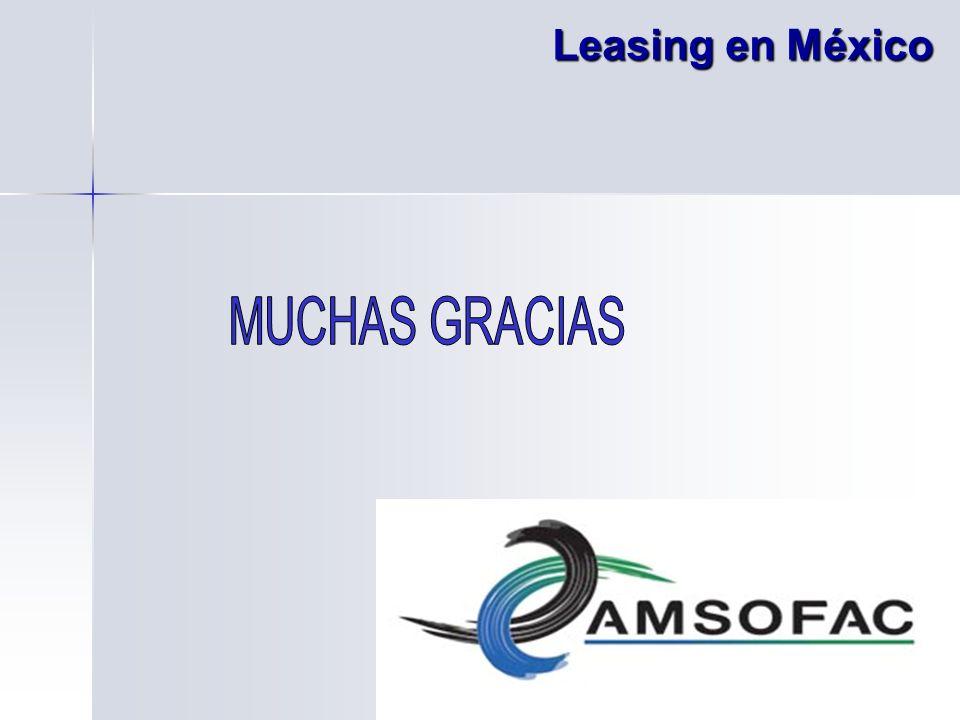 Leasing en México MUCHAS GRACIAS