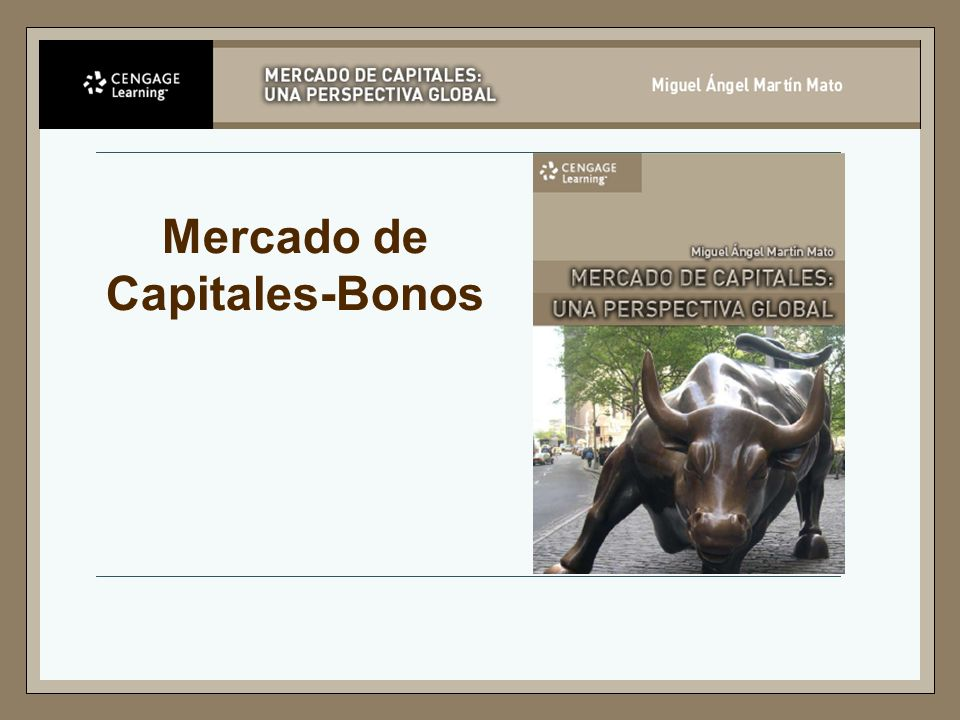 Mercado de Capitales-Bonos