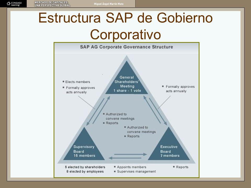 Estructura SAP de Gobierno Corporativo