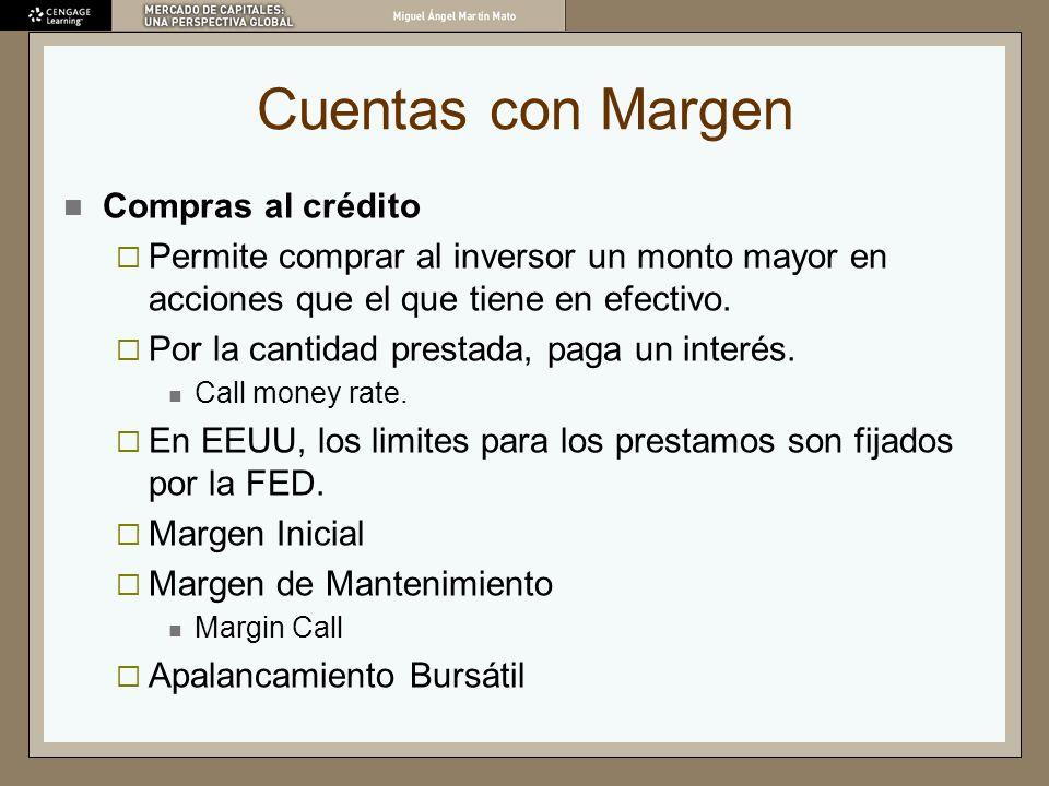 Cuentas con Margen Compras al crédito
