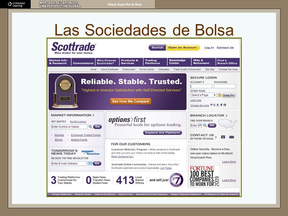 Las Sociedades de Bolsa