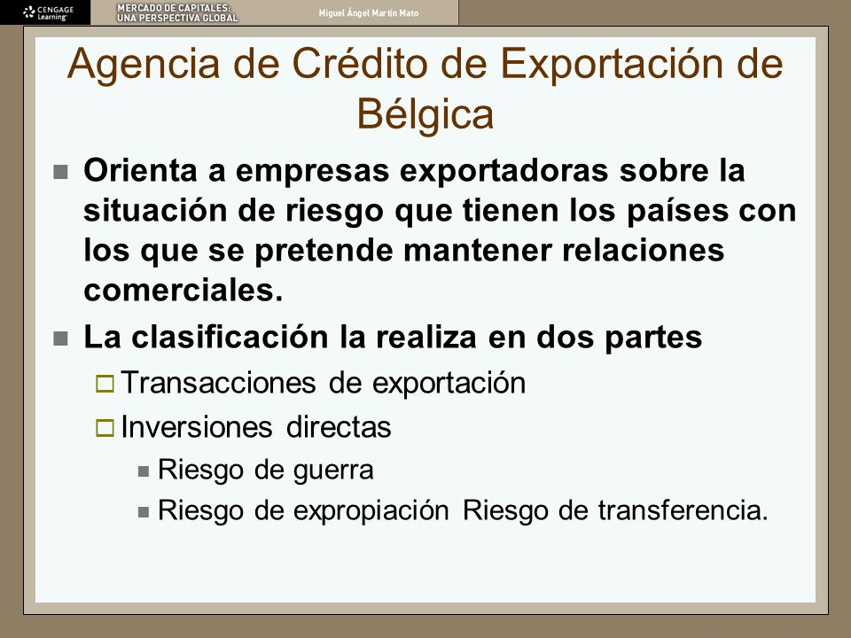 Agencia de Crédito de Exportación de Bélgica