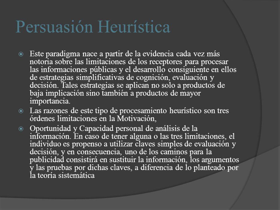 Persuasión Heurística
