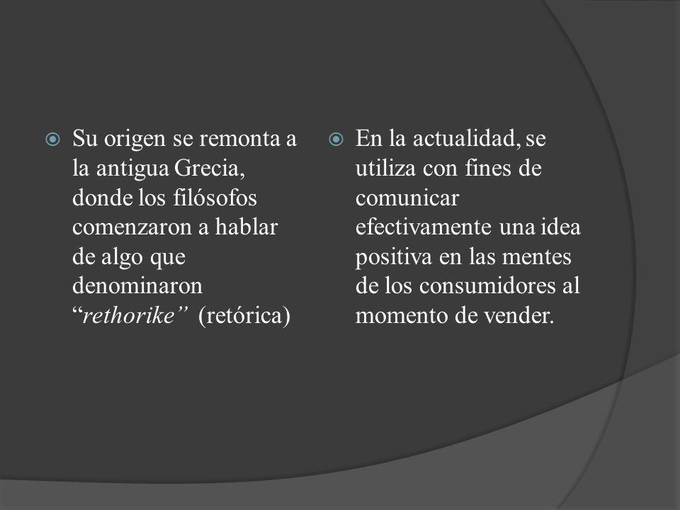 Su origen se remonta a la antigua Grecia, donde los filósofos comenzaron a hablar de algo que denominaron rethorike (retórica)