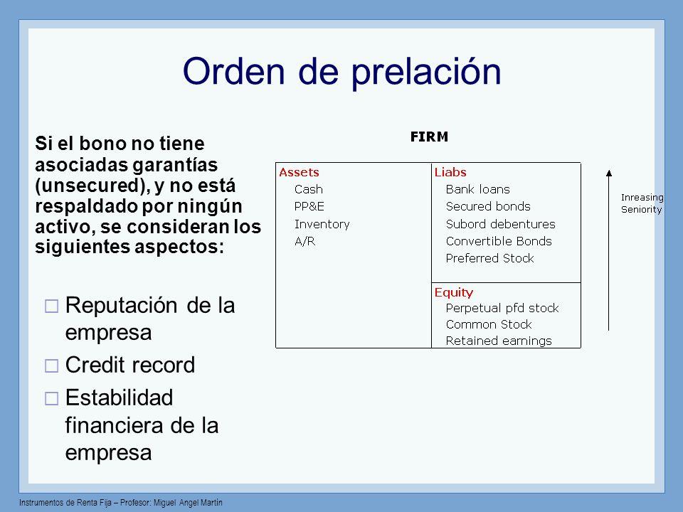 Orden de prelación
