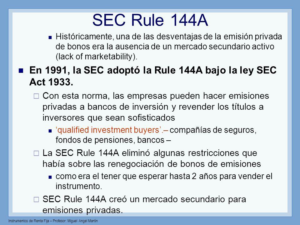 SEC Rule 144A
