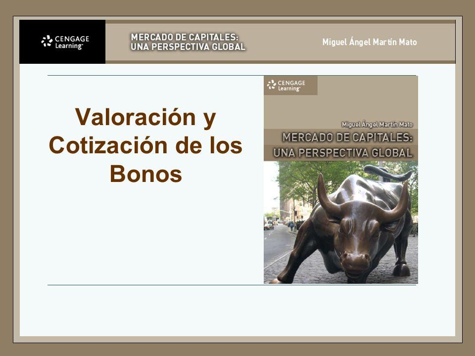 Valoración y Cotización de los Bonos
