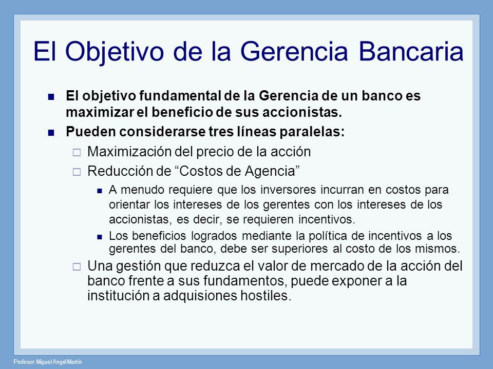El Objetivo de la Gerencia Bancaria