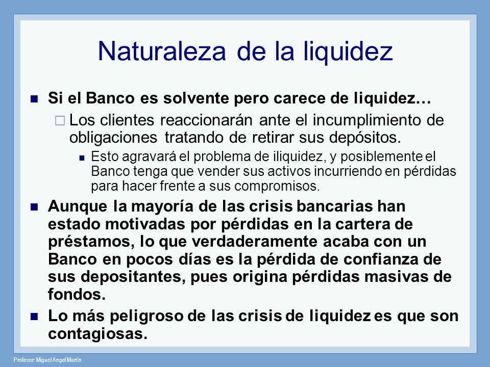 Naturaleza de la liquidez