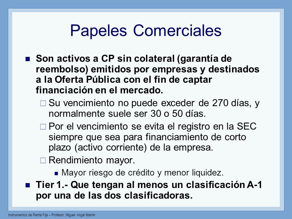 Papeles Comerciales