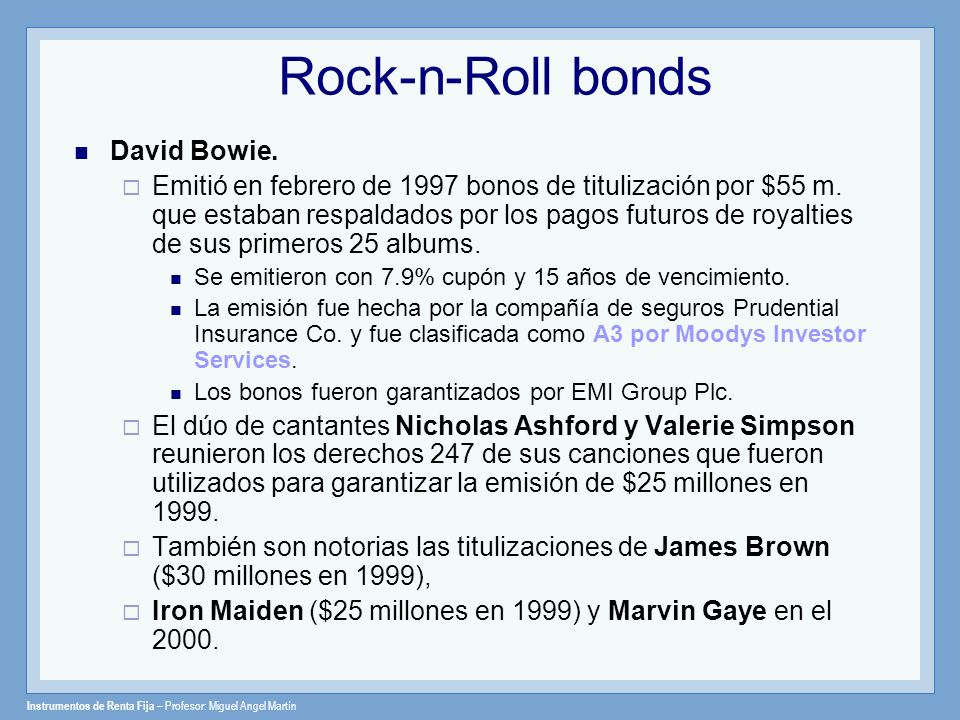 Rock-n-Roll bonds David Bowie.