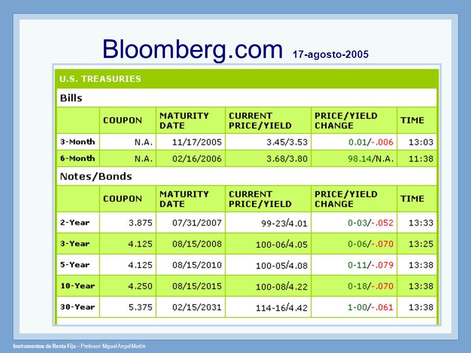 Bloomberg.com 17-agosto-2005