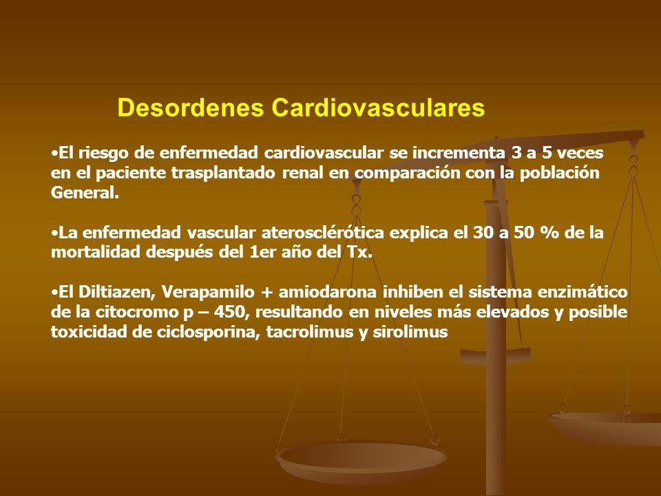 Desordenes Cardiovasculares