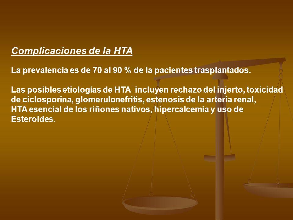Complicaciones de la HTA