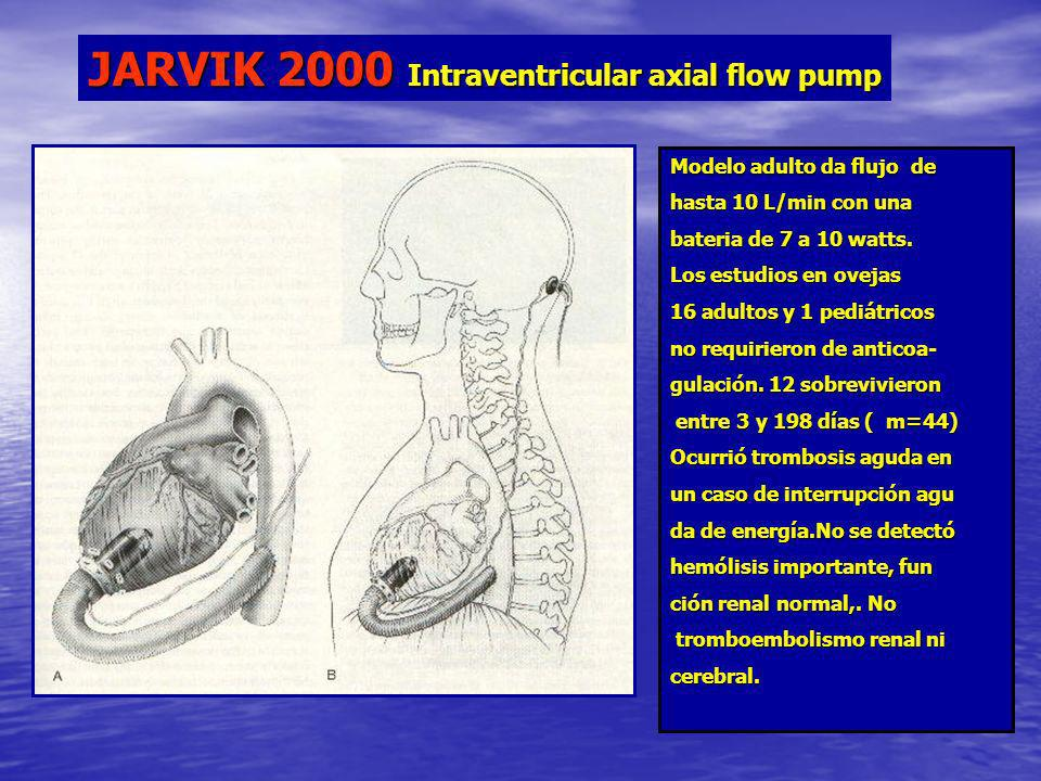 JARVIK 2000 Intraventricular axial flow pump
