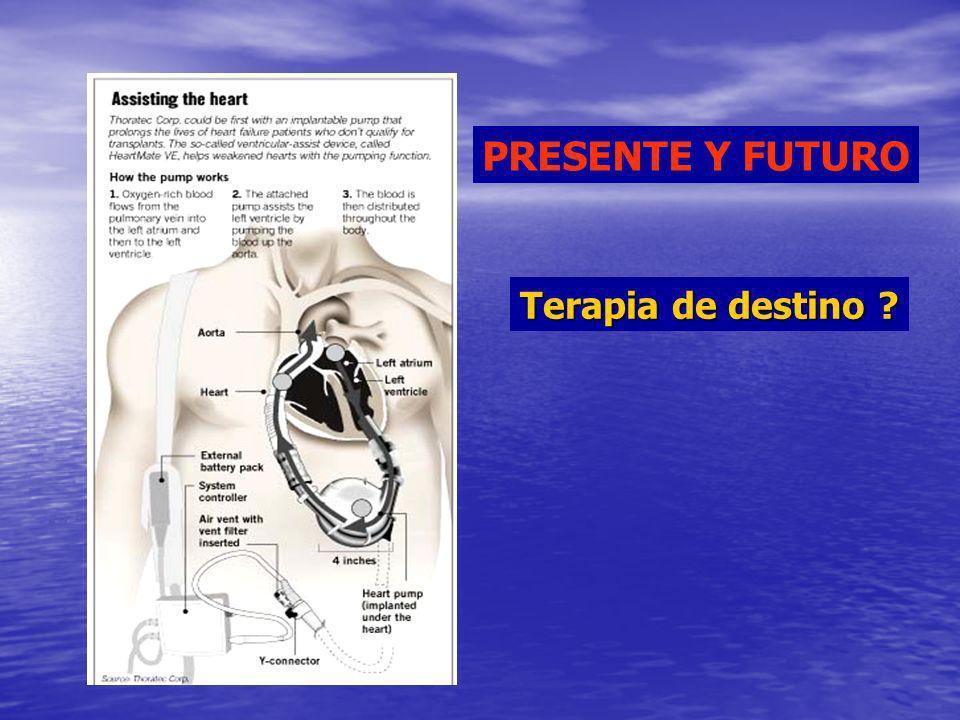 PRESENTE Y FUTURO Terapia de destino