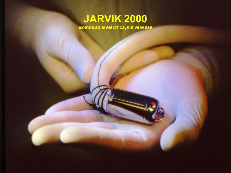 JARVIK 2000 Bomba axial eléctrica, sin valvulas