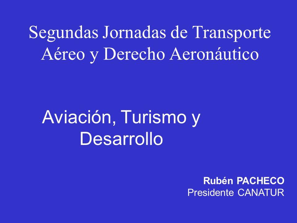 Segundas Jornadas de Transporte Aéreo y Derecho Aeronáutico
