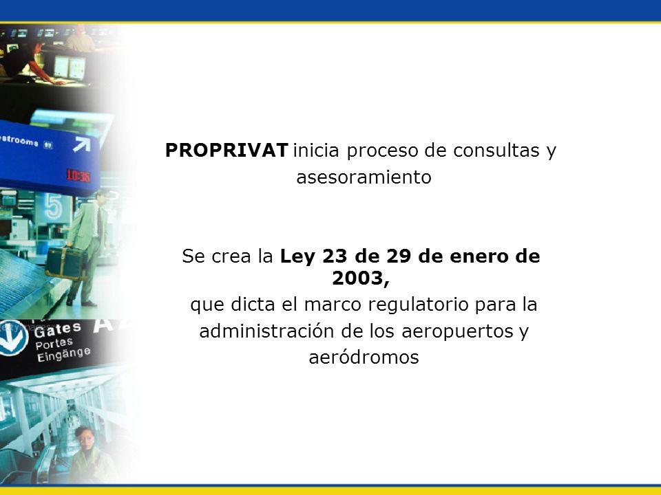 PROPRIVAT inicia proceso de consultas y asesoramiento